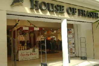 Our Victorian style stall in operation for the House of Fraser Groups Nottingham branch.
