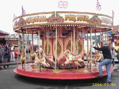 A miniture version of the Victorian Carousel designed specifically for children.